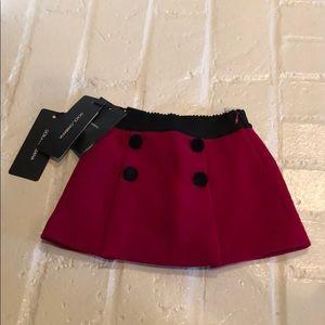 NEW Dolce & Gabbana skirt 6/9 months